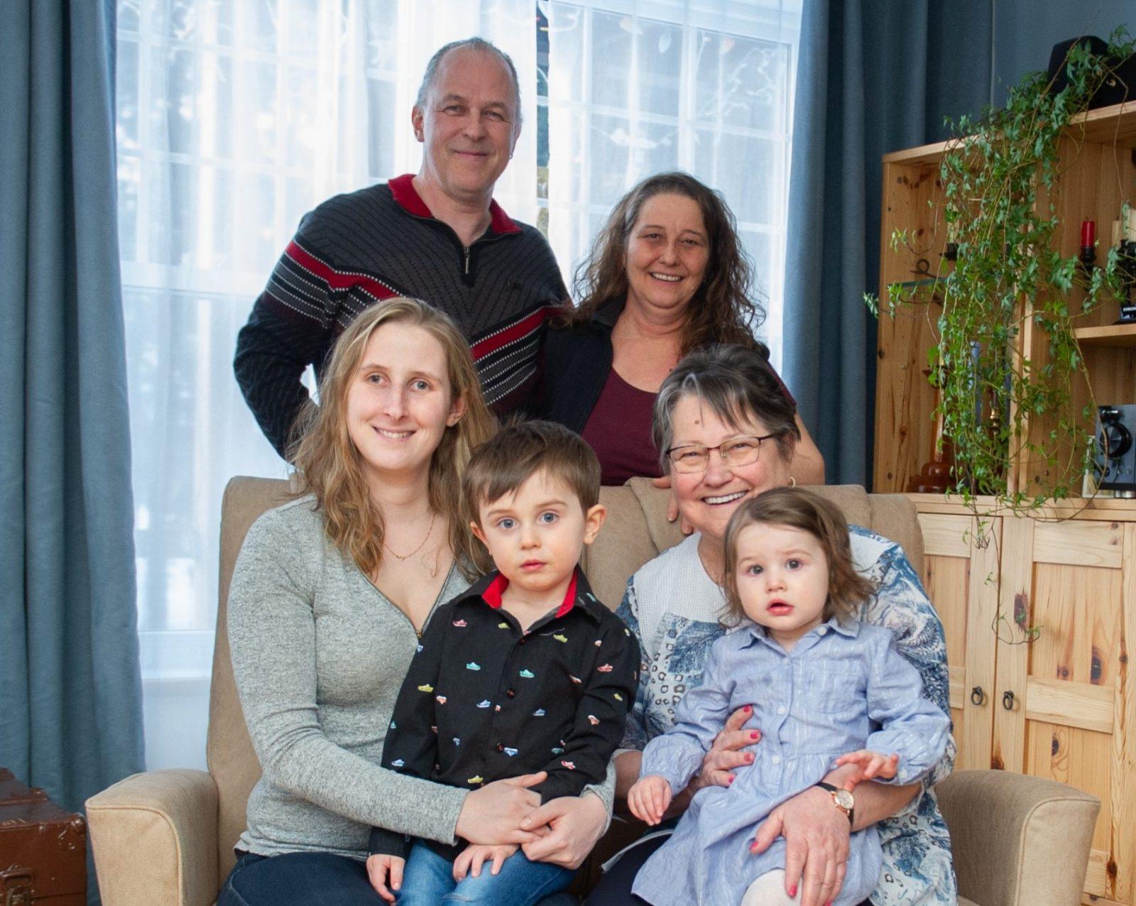 Quatre générations sous le même toit