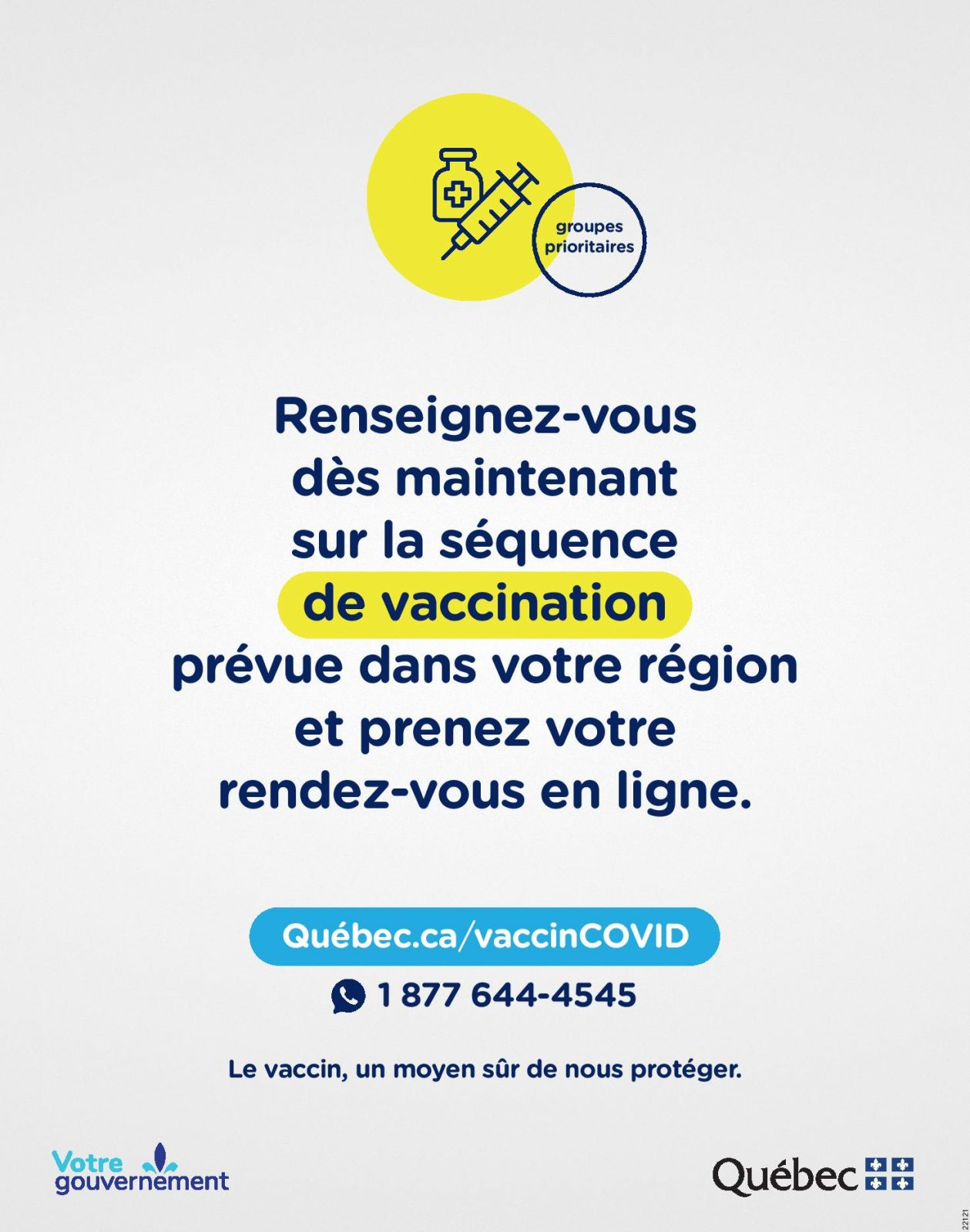 Logo de Séquence de vaccination