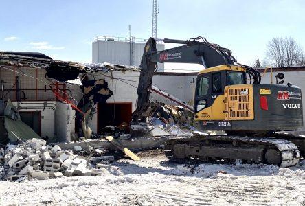 Nouvelle usine d'eau potable : les travaux de démolition sur pause