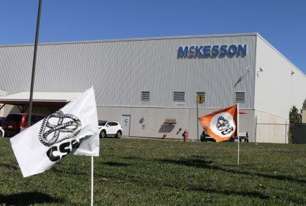 Entente de principe pour les salariés de McKesson de Drummondville