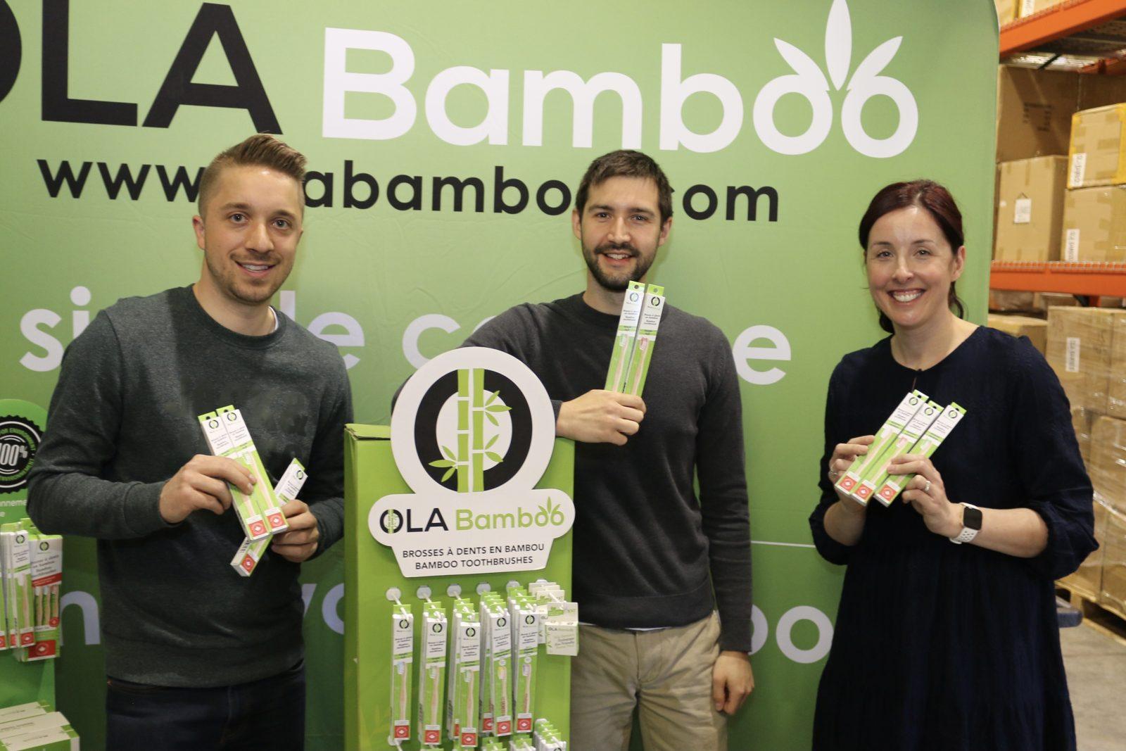 OLA Bamboo fabrique maintenant ses brosses à dents à Drummondville