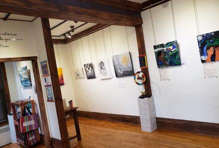 La poésie est à l'honneur jusqu'au mois de juin à la Galerie mp tresart
