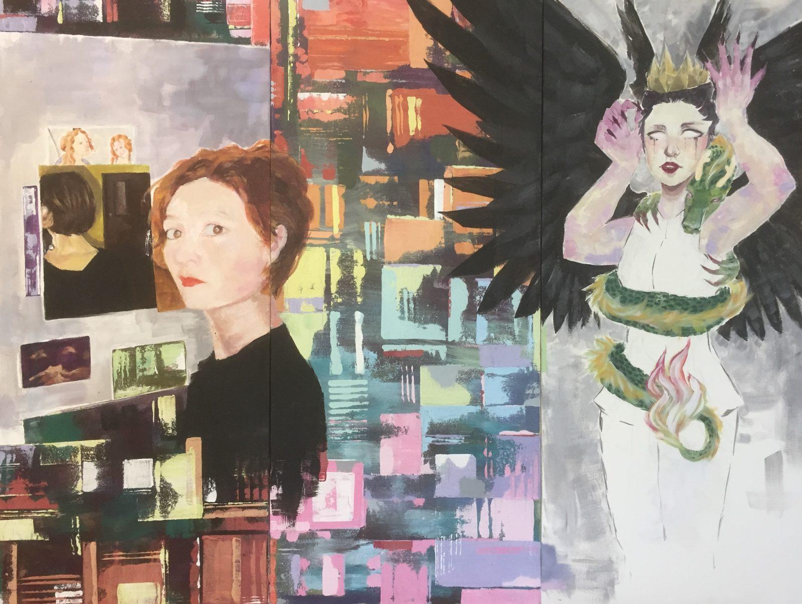 Les étudiants en arts visuels exposent au centre-ville