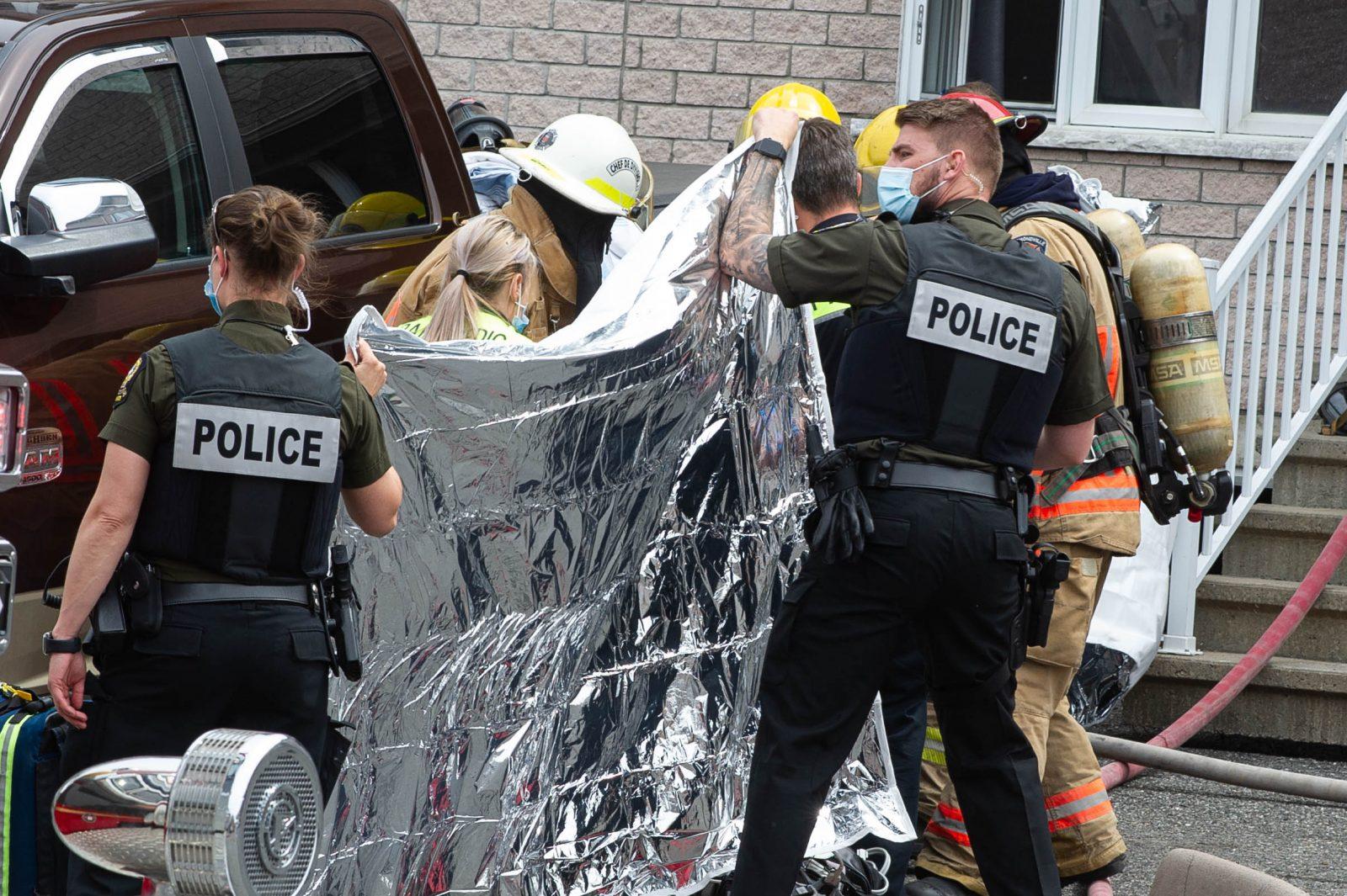 Incendie de la rue Villemure : une personne a perdu la vie (mise à jour)