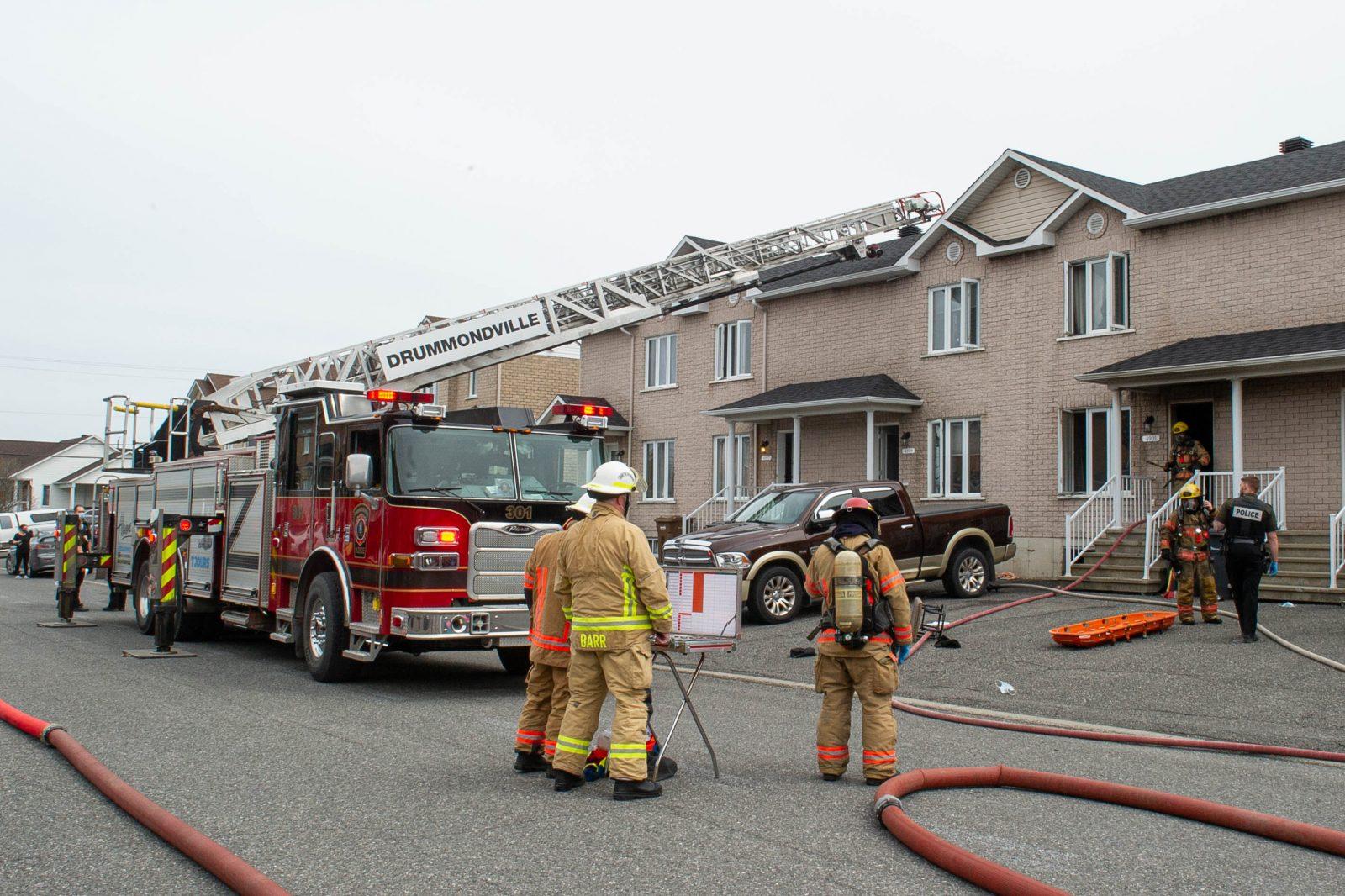 Incendie de la rue Villemure: la victime est identifiée