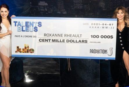 Talents bleus: Roxanne Rheault n'a pas oublié Drummondville