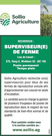 Superviseur(e) de ferme