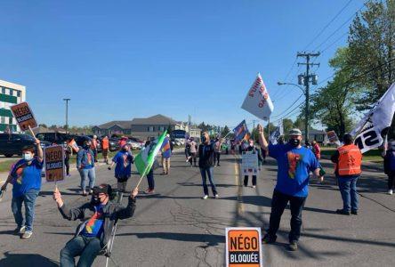 Les syndicats de la santé et des services sociaux prêts pour la grève dès le début juin