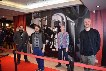 Un tapis rouge unique pour le film Première vague