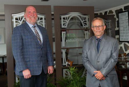 Louis Raiche et Guy Nobert annoncent leur candidature aux élections municipales