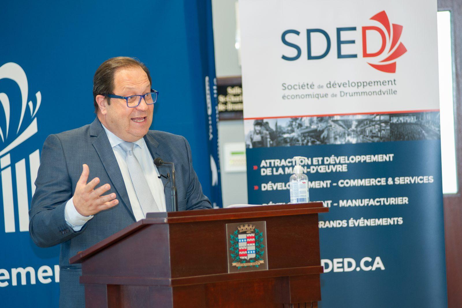 La SDED rapporte une baisse des investissements de 61,5 M$