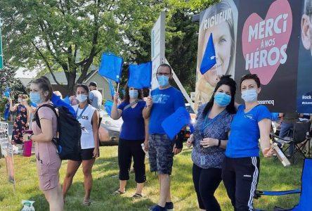 Des professionnels de la santé accentuent la pression avec deux journées de grève supplémentaires