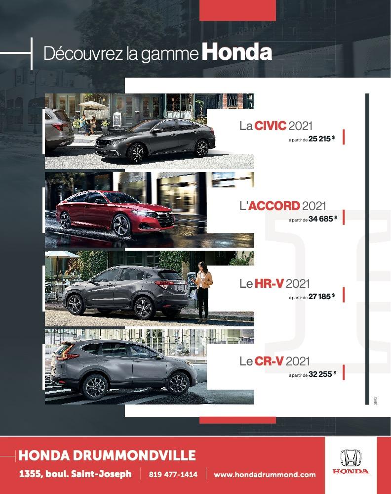 Logo de Découvrez la gamme Honda