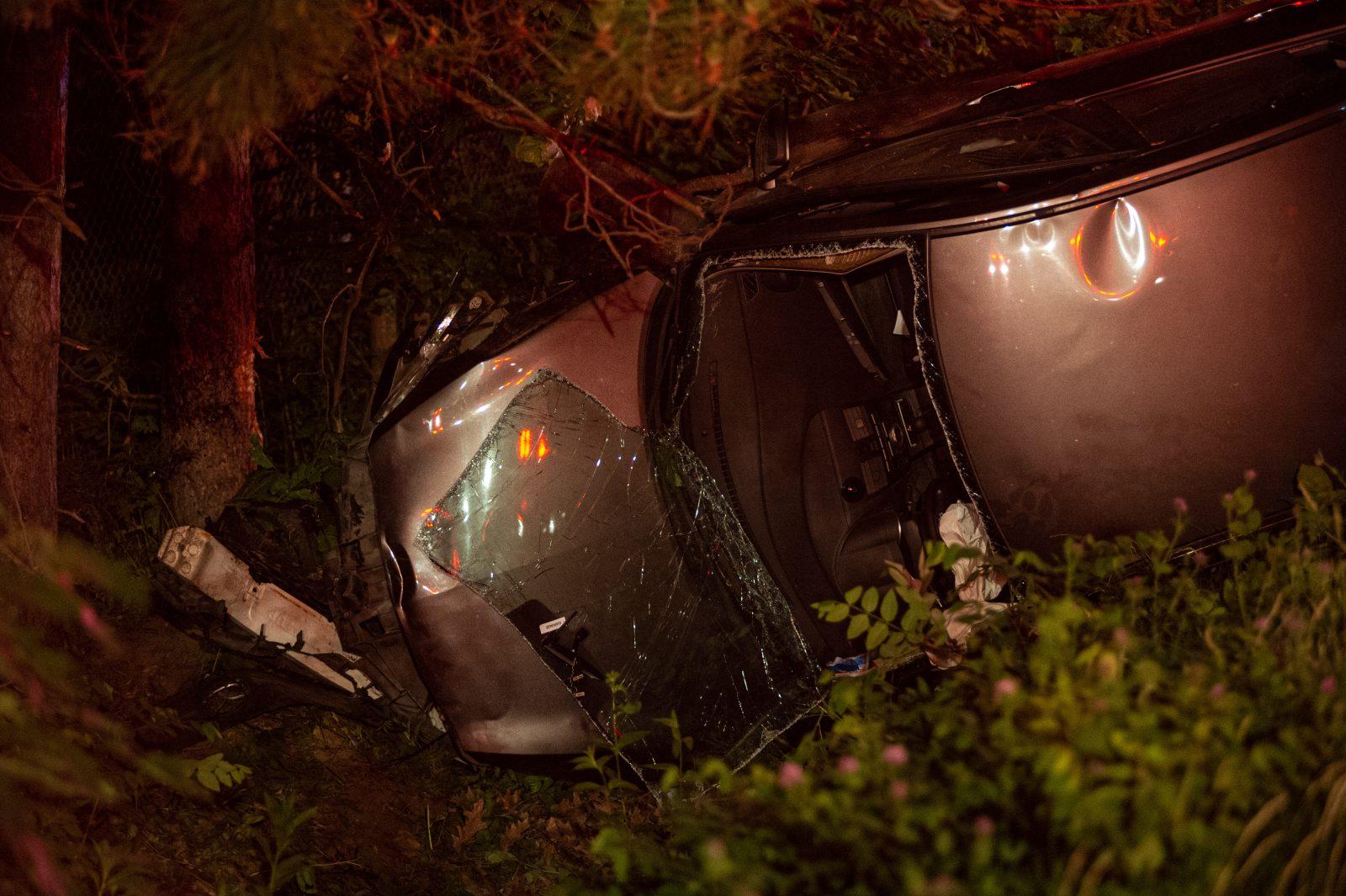 Une jeune automobiliste blessée après s'être endormie au volant