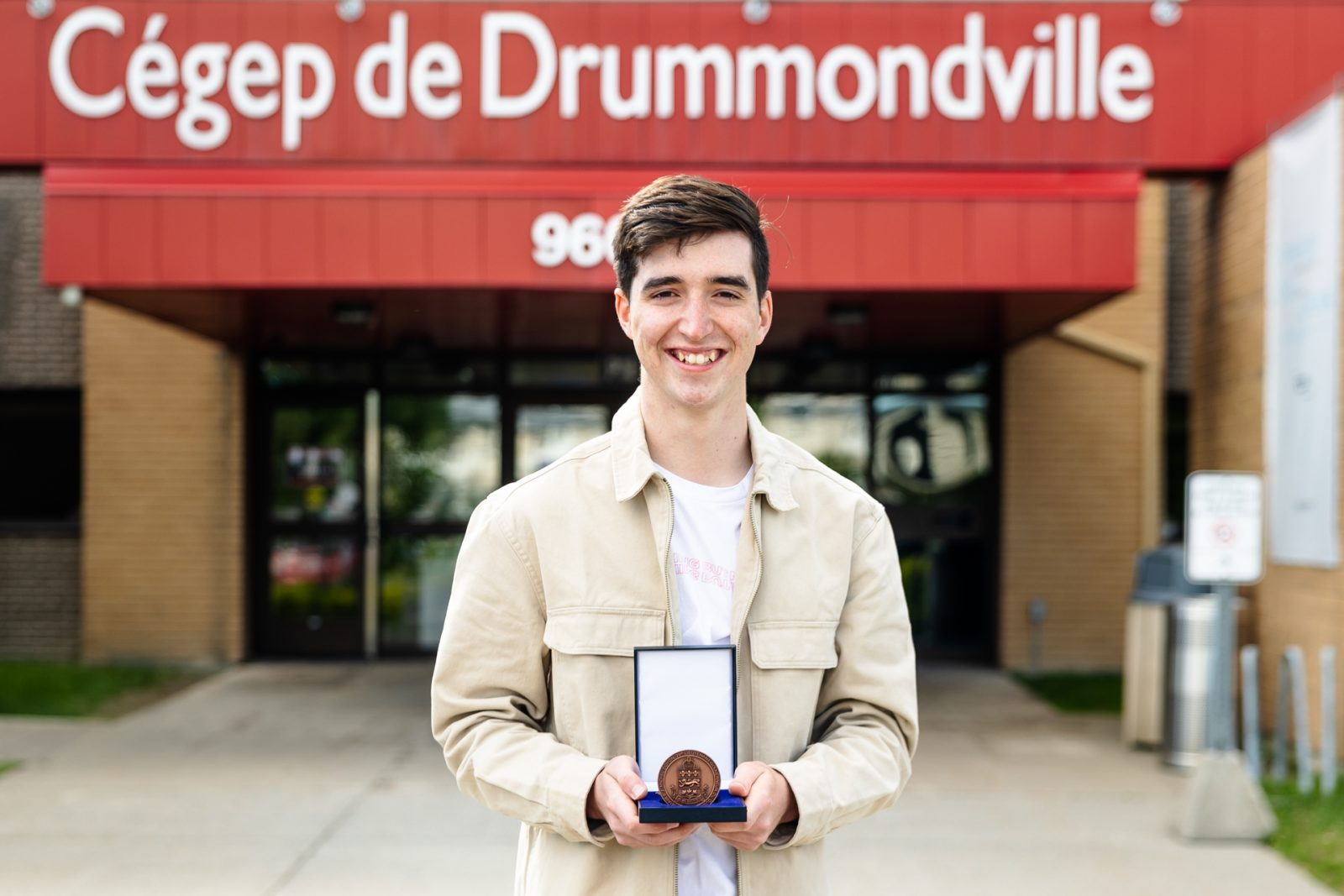 Deux étudiants du Cégep de Drummondville honorés