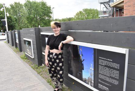 L'artiste Rachel Derouin jette un regard nouveau sur Drummondville