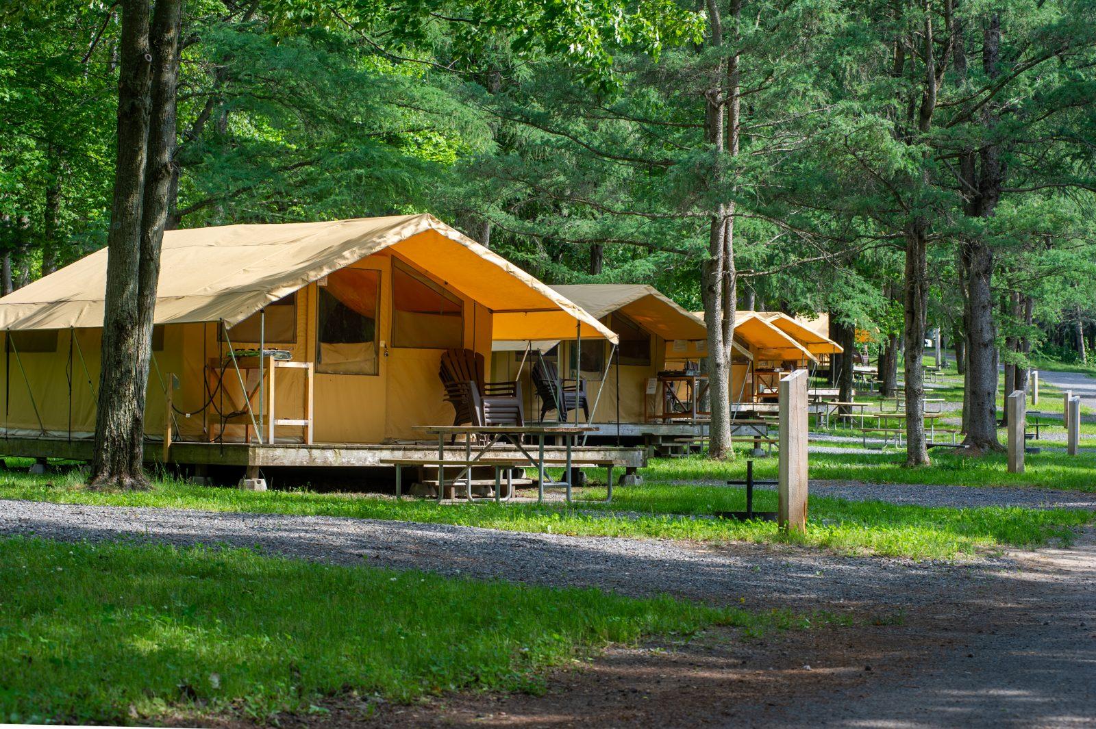 Le camping des Voltigeurs se met à jour
