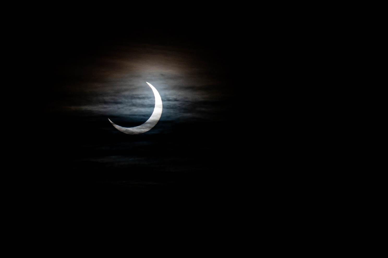 L'éclipse solaire en images
