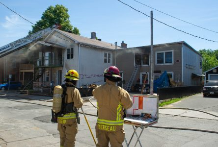 Incendie sur la rue Girard (photos)