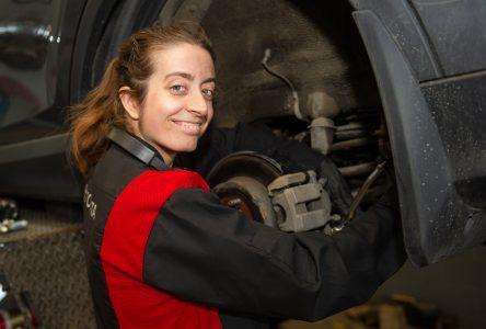 La mécanique automobile au féminin