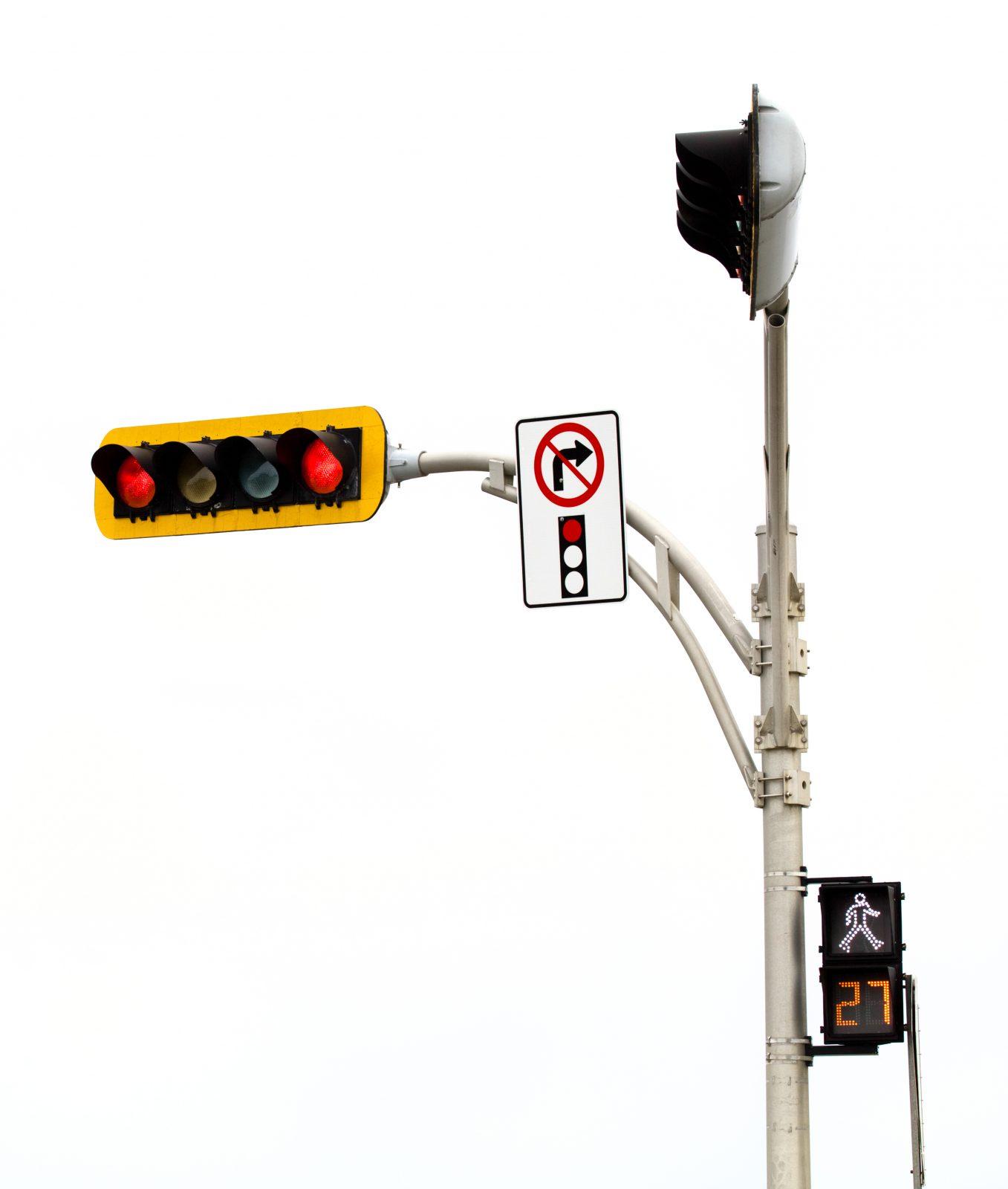 Virage à droite au feu rouge : 21 nouvelles interdictions à Drummondville