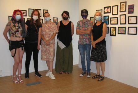 Des élèves de La Rue'L exposent à la Galerie des Impatients à Montréal