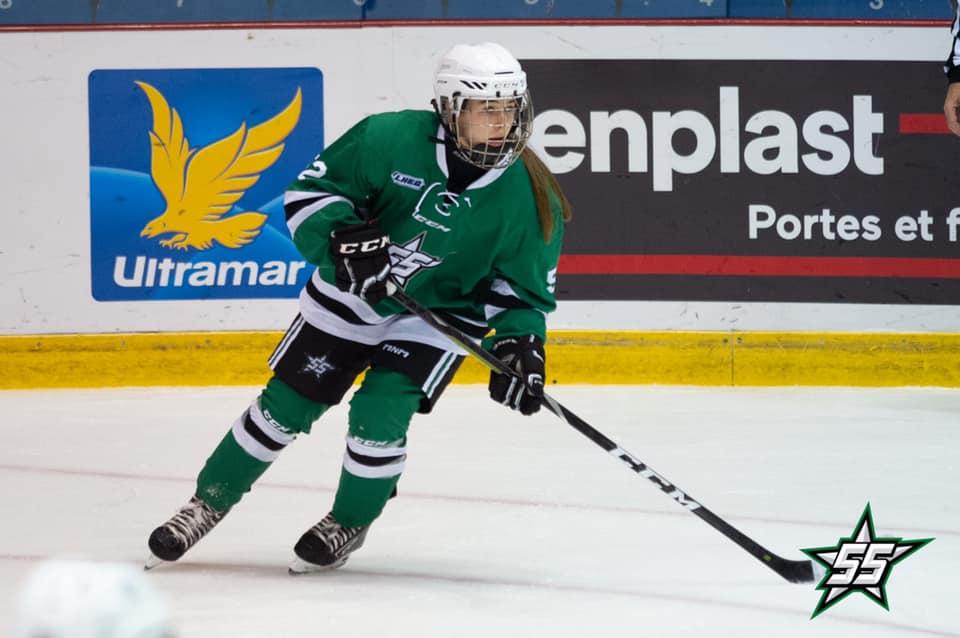 Chloé Blanchard invitée par Hockey Québec
