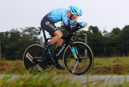 Tour de France: Hugo Houle fébrile à l'idée de franchir le fil d'arrivée