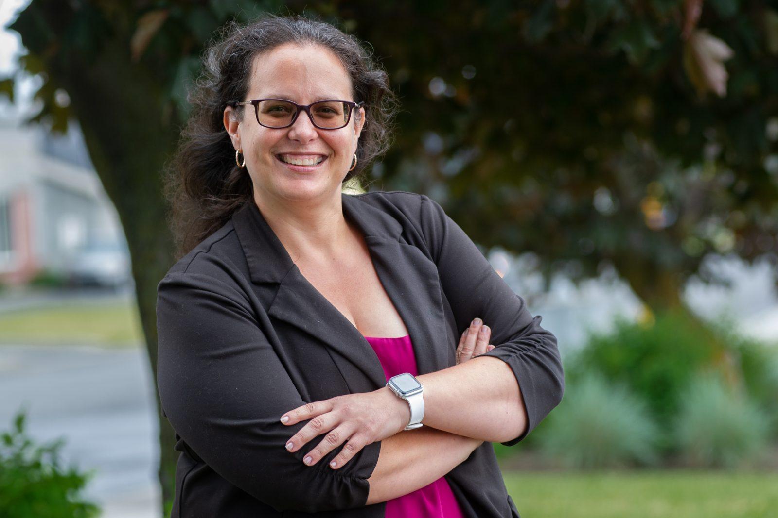 Stéphanie Lacoste veut amener un leadership «bienveillant et rassembleur»