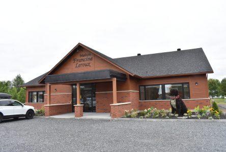 La Maison Francine Leroux ouvre ses portes à Saint-Lucien