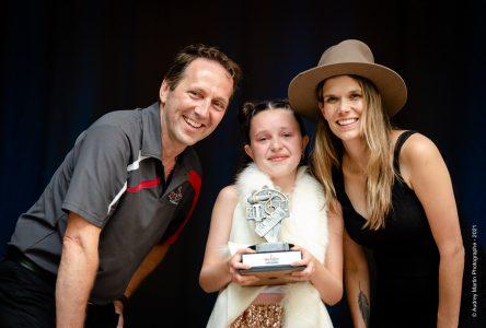 Anaïs Couture remporte le concours RockStar Junior