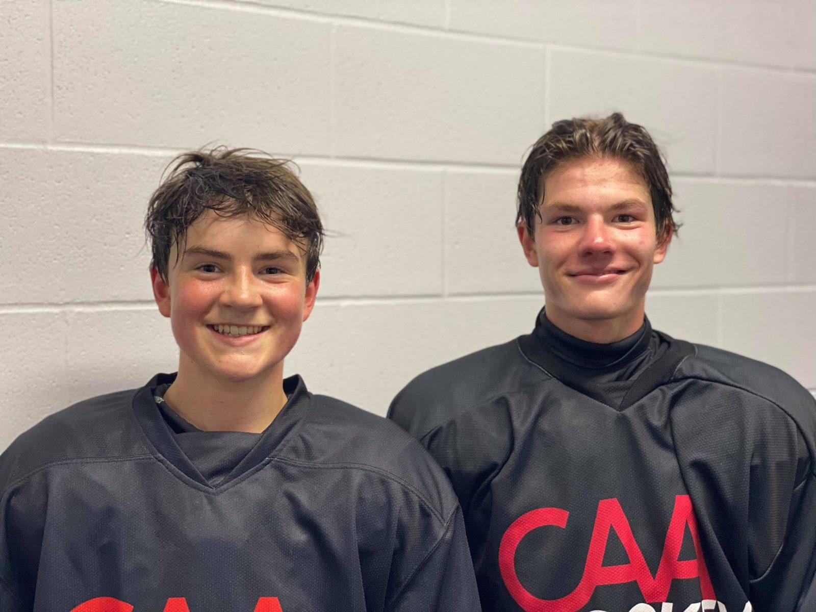 Deux Drummondvillois prendront part au camp M15 d'Équipe Québec