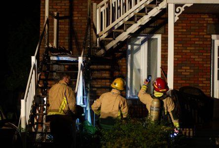 Quatre incendies suspects en une nuit