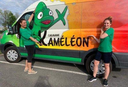 La Caravane Kaméléon est maintenant sur la route