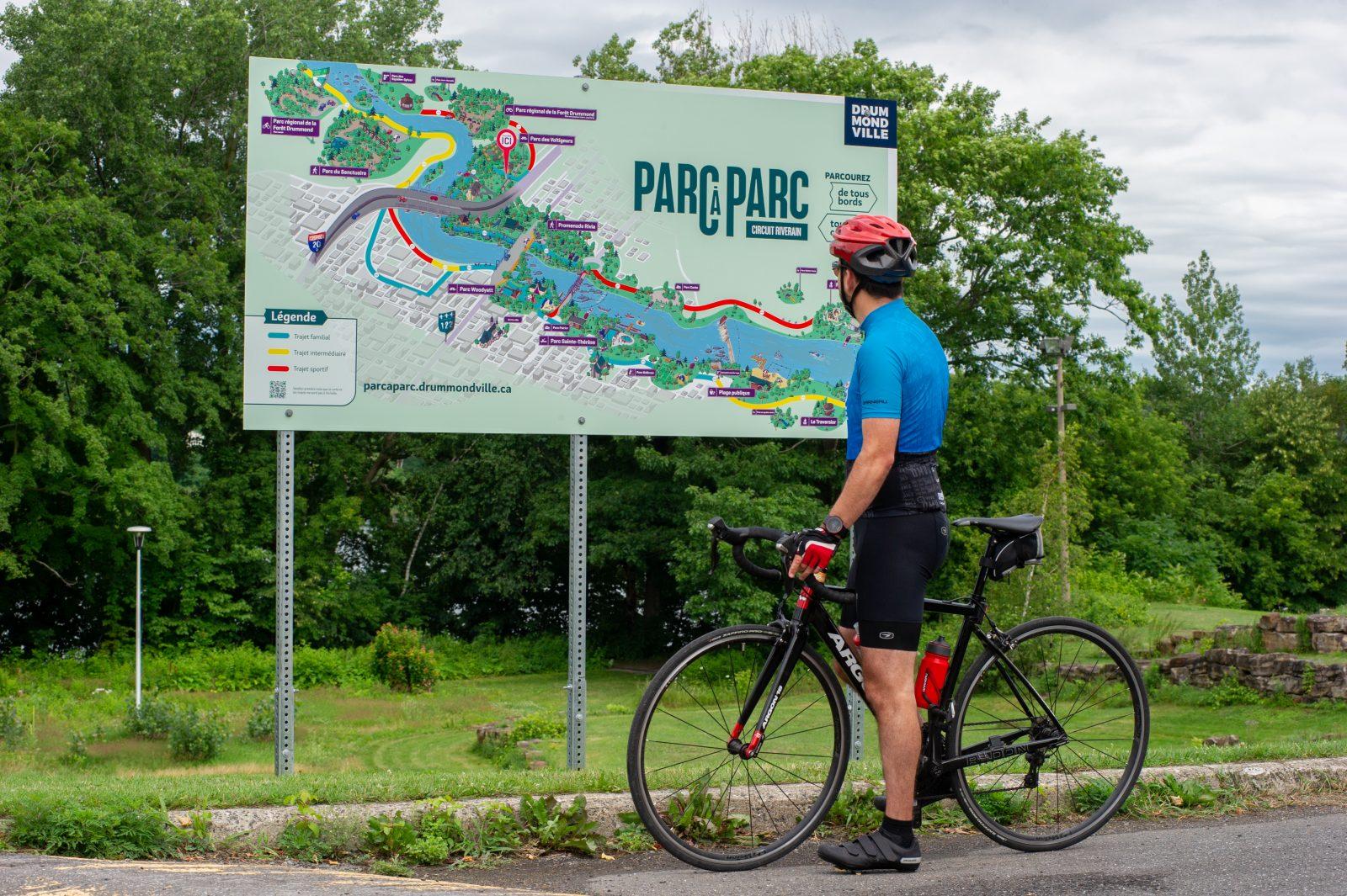 Drummondville mise sur le charme de ses parcs riverains
