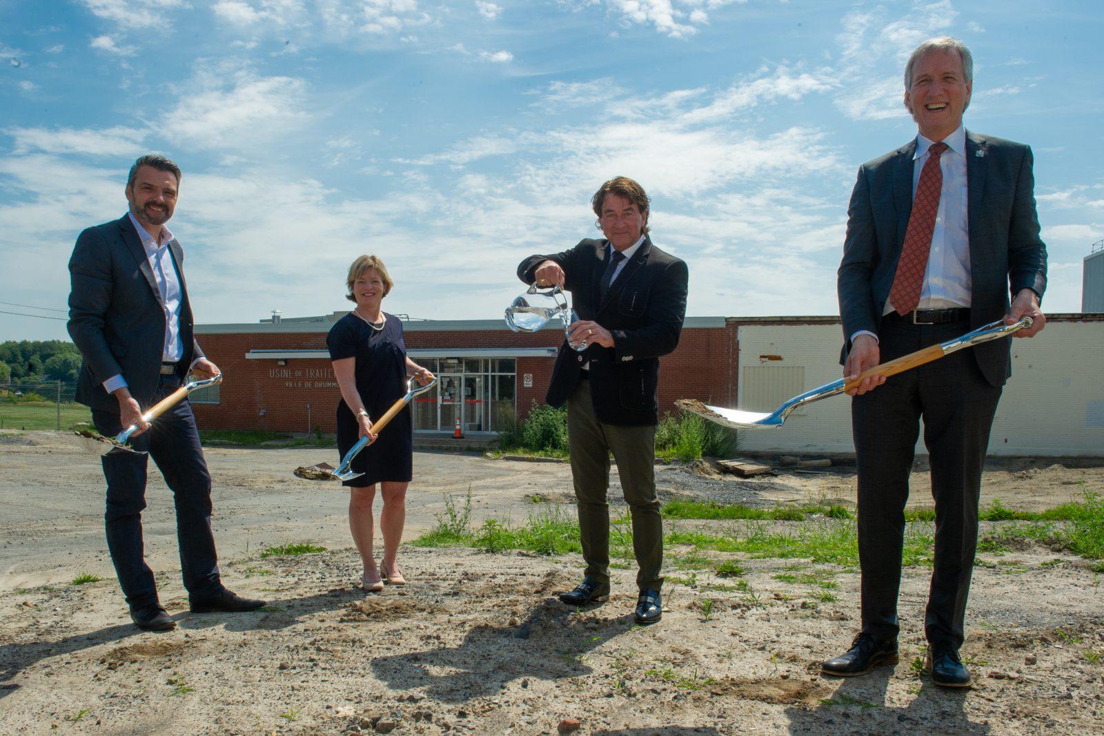 Le plus important projet de l'histoire de Drummondville bientôt réalité