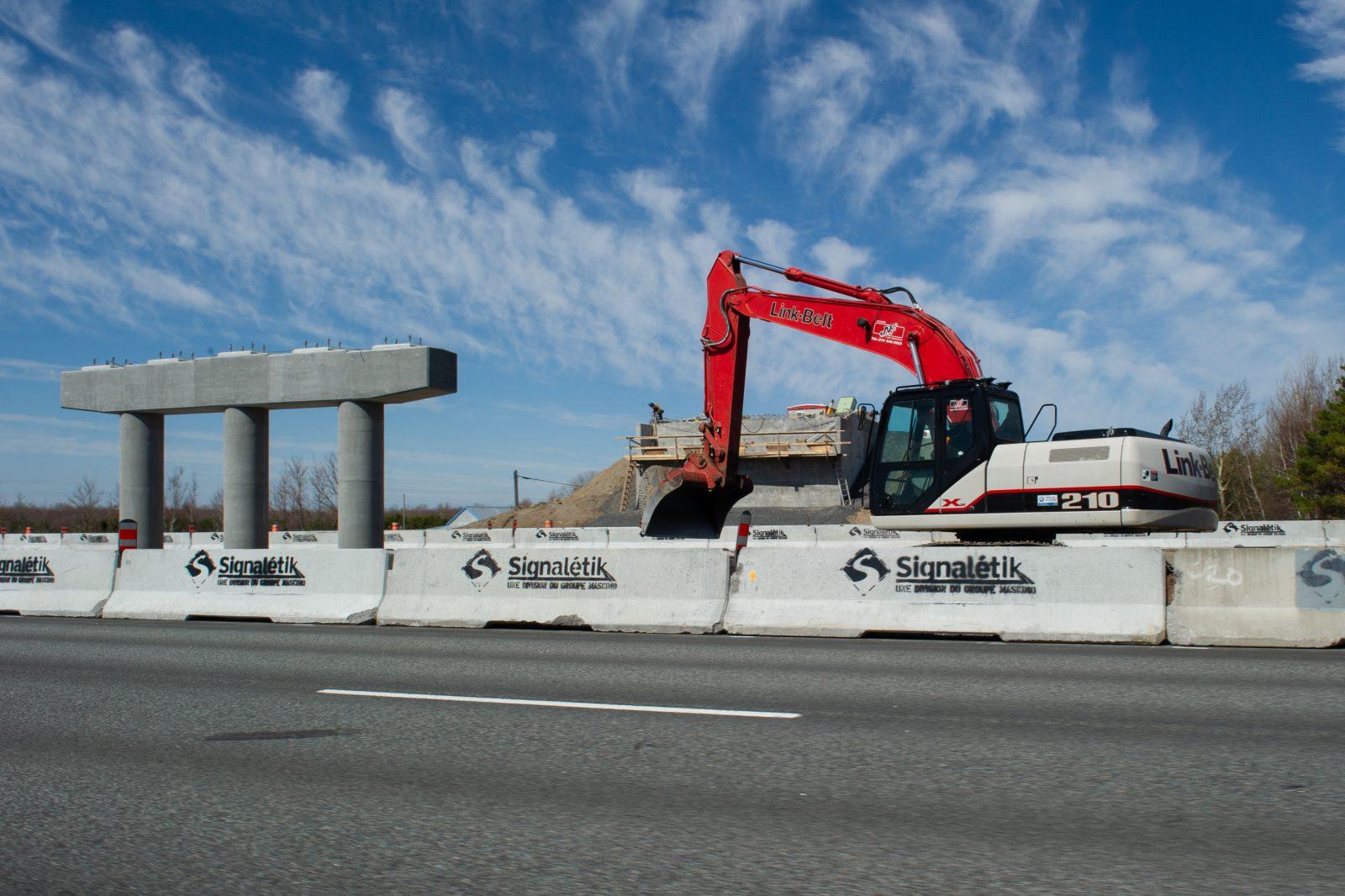 Le nouveau pont d'étagement du 9e rang de Wendover est prêt