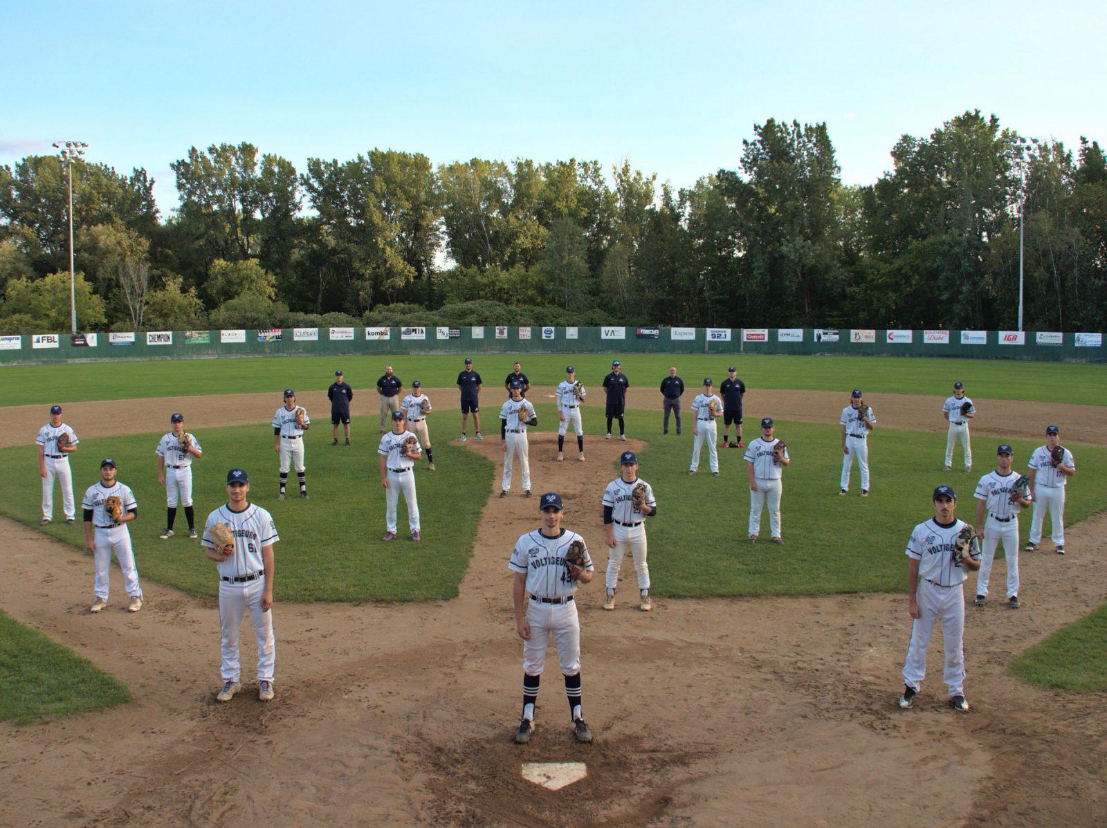 Les Voltigeurs baseball nommés meilleure équipe collégiale au pays