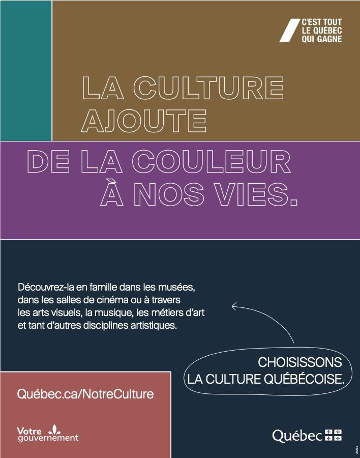 La culture Québecoise