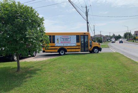 Transport scolaire: une nouvelle campagne de sensibilisation se met en branle