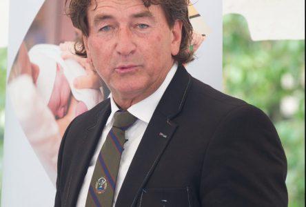 Maison des aînés: Alain Carrier se dit fier de l'avancement des travaux