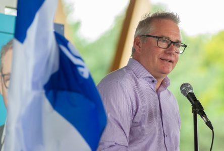 Martin Champoux dévoile les quatre thèmes de sa campagne