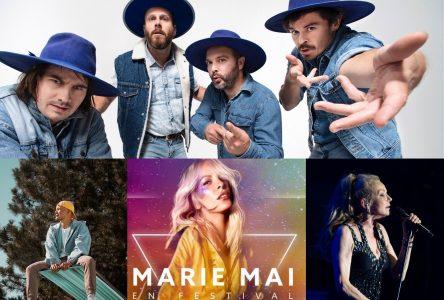 Marie-Mai, Bleu Jeans Bleu, Marjo et FouKi au Festival de la poutine