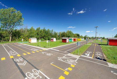 De nouveaux équipements au parcours de vélo éducatif