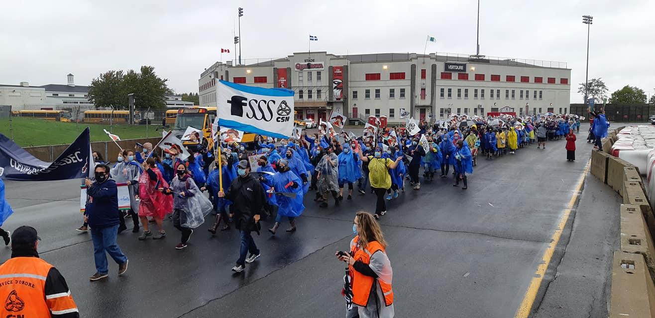 Une première journée de grève dans les CPE