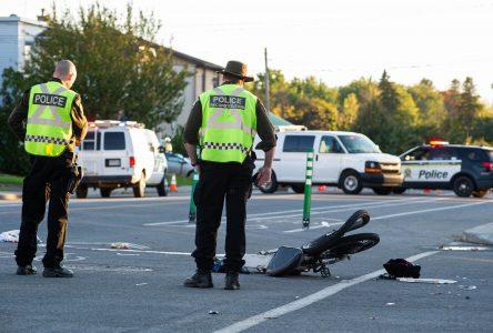 Accident rue Saint-Pierre : le cycliste est décédé