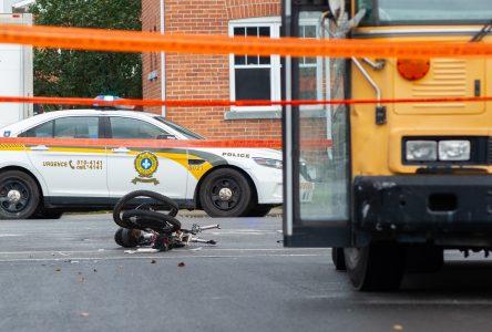 Un cycliste grièvement blessé sur la rue Saint-Pierre (mise à jour)