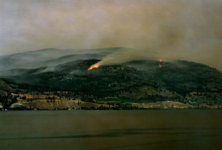 Andreas Rutkauskas présente une exposition sur les feux de forêt