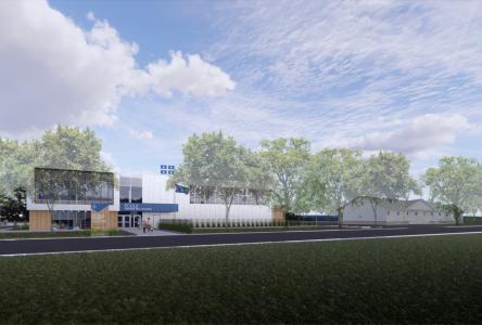 Retard dans la construction de l'école de Saint-Lucien