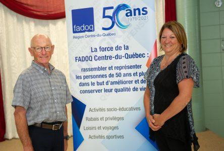 La FADOQ Centre-du-Québec, 50 ans d'histoire